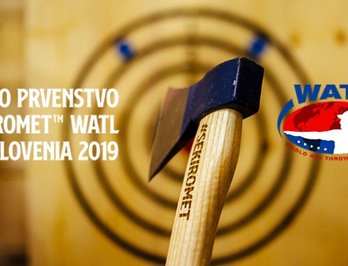 Join us at The First National Championship in Axe Throwing by WATL SLOVENIA 2019