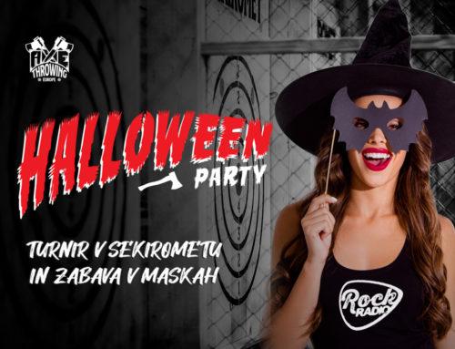 Halloween zabava in turnir v Sekirometu