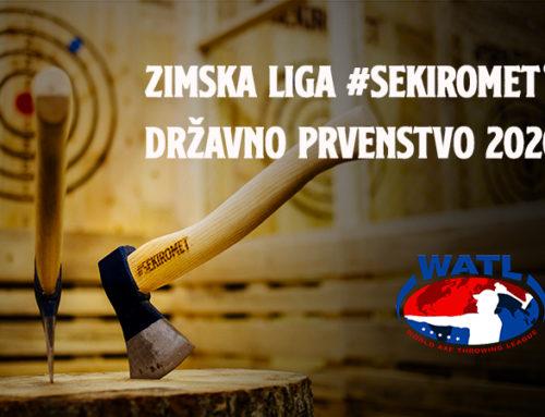 Vabilo na Zimsko ligo v Sekirometu – državno prvenstvo WATL SLOVENIA 2020