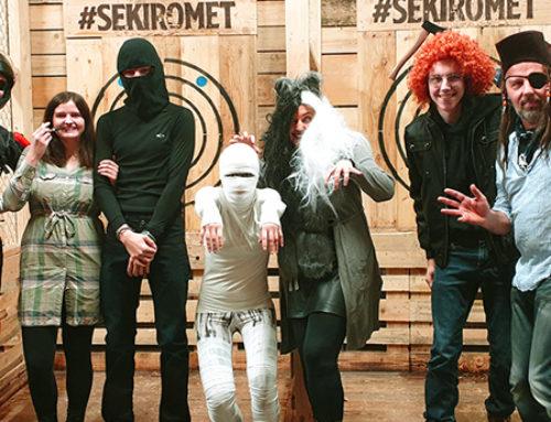 Pustni Sekiromet – odbita zabava v maskah!